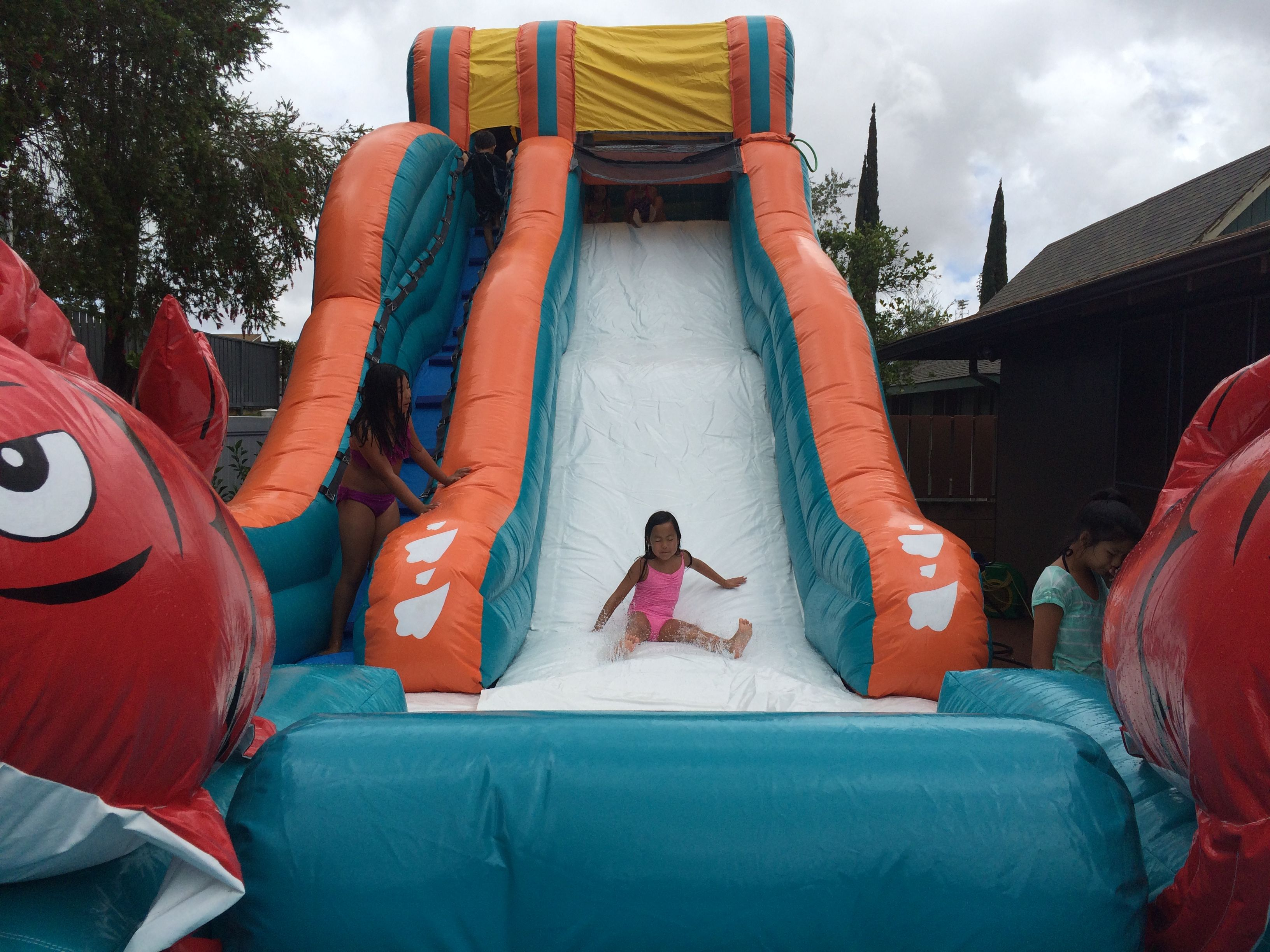 Big Kahuna Water Slide Hi Jump Rentals Oahu With