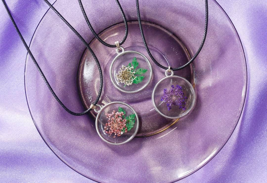 Resin Necklace Cost For Only 149 Php Dm Us On Mm Crafti For Your Order Handmade Crafts Handcrafted Philippin Resin Jewelry Handcraft Resin Necklace