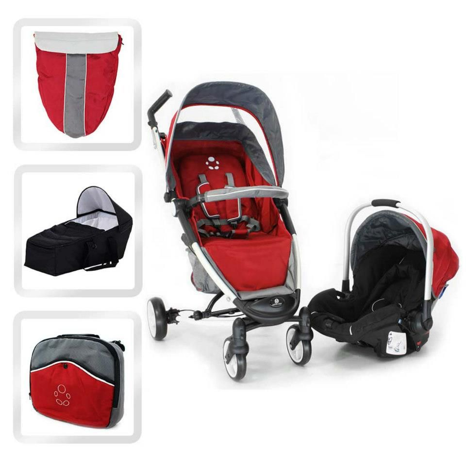 Petite Star Zia4 Pushchair Car Seat Change Bag Cocoon And Footmuff For Just