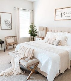 Dreaming of Saturday mornings that look like this... 😍 Double-tap if you are loving @missjessicanicol… | Room ideas bedroom, Room decor bedroom, Home decor bedroom