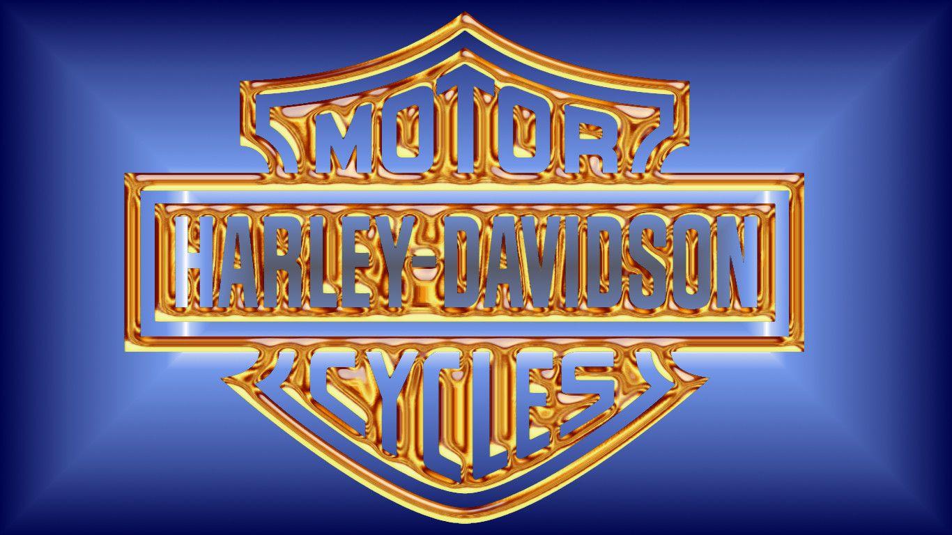 Image For Harley Davidson Logo Blue Flames Wallpaper Iphone 533xz