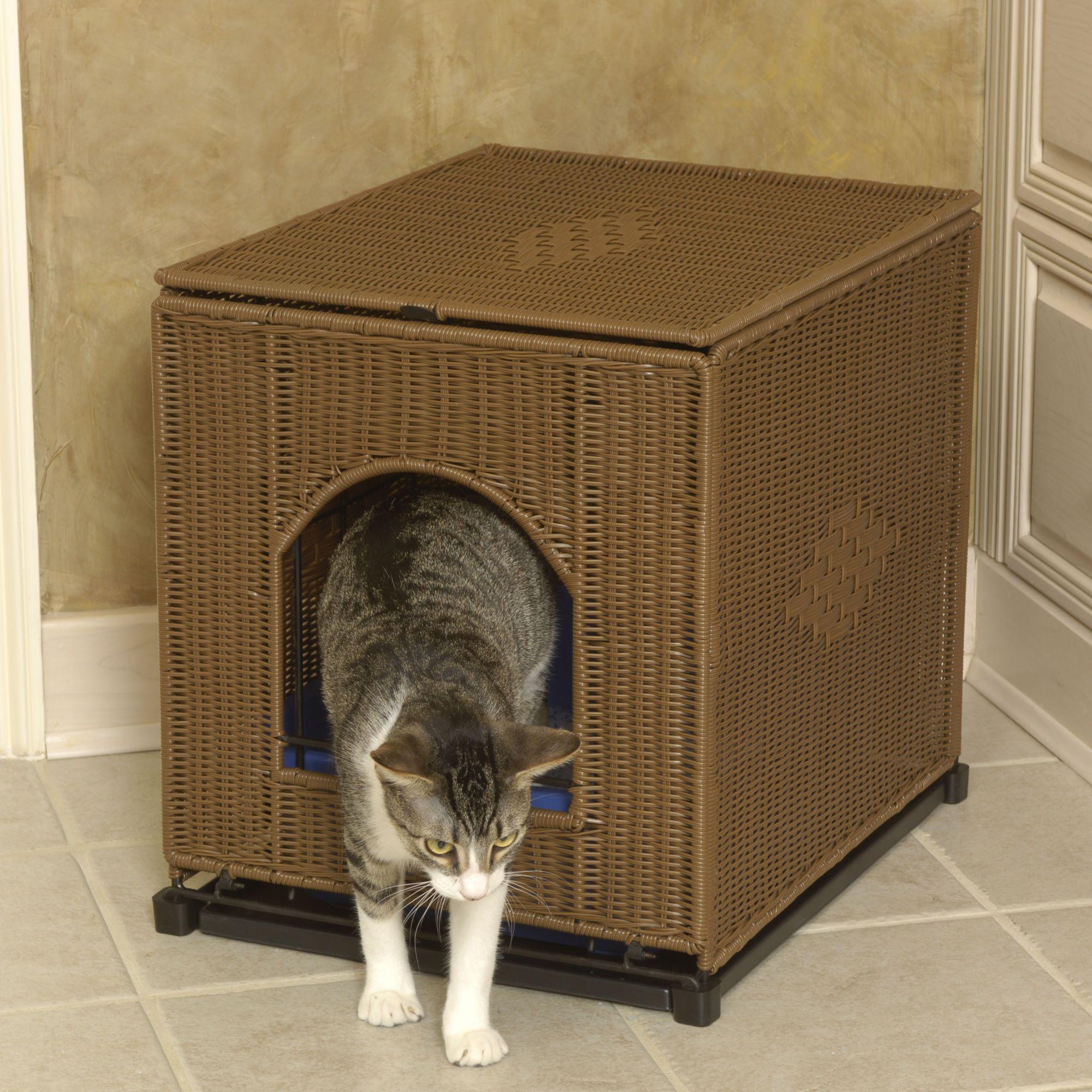 Decorative Litter Box: Mr. Herzher's Litter Box Cover