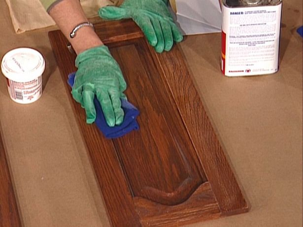 How To Paint Kitchen Cabinets Diy Network Kitchens And Clean Cabinets