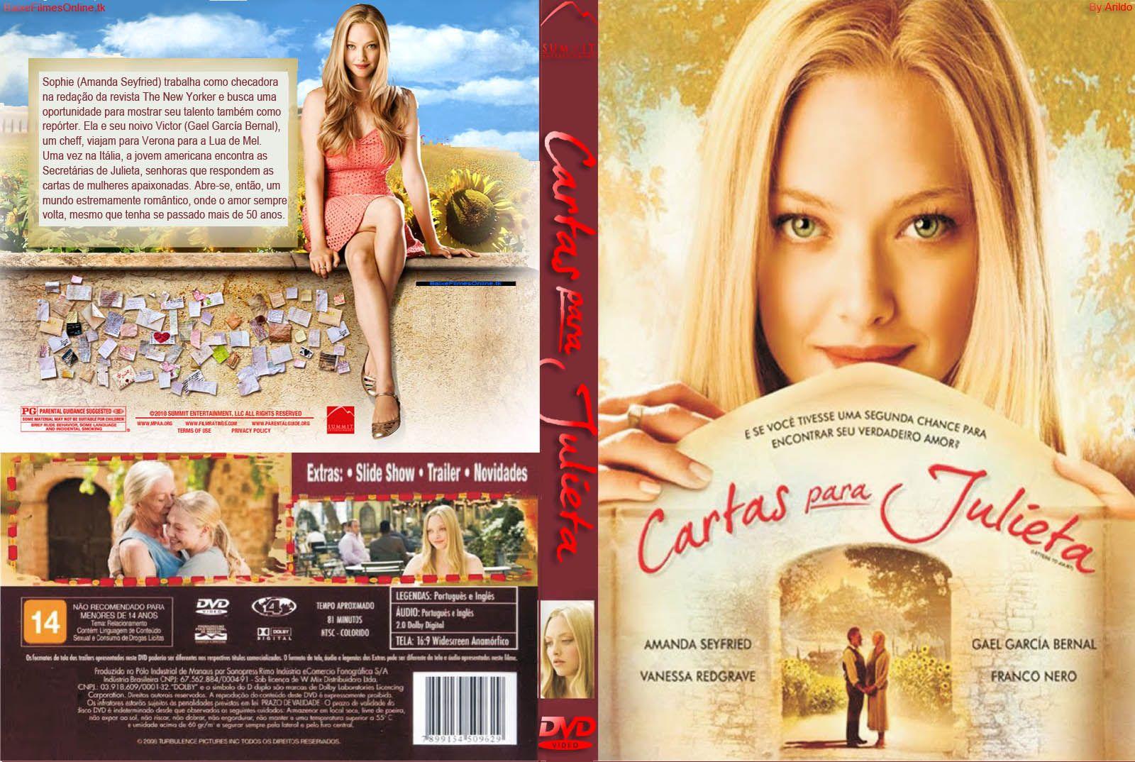 Carta Para Julieta Cartas Para Julieta Capas De Filmes Filmes De Romance