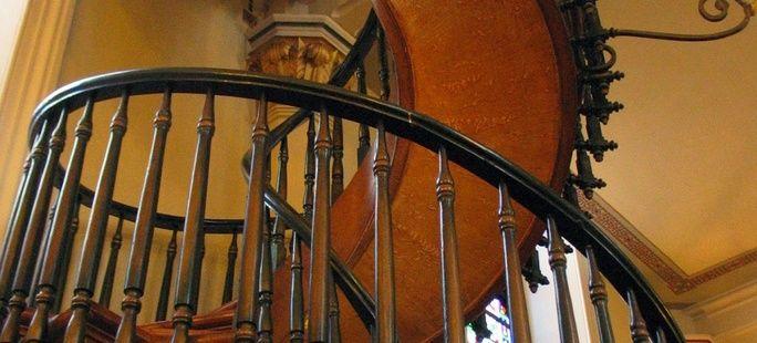 Wyjątkowe schody, których autorem jest sam Św. Józef!