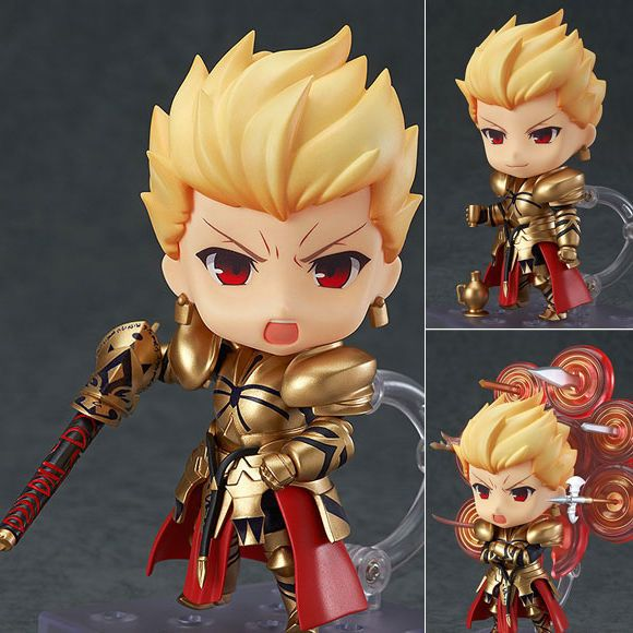 Nendoroid 410 Gilgamesh Fate/Stay Night Anime Figure Good Smile Company Japan Now available at Figure Central (^o^)