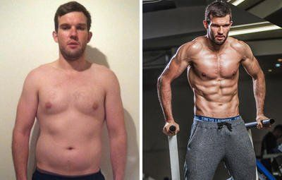 Workout and diet plan to lose fat and gain muscle
