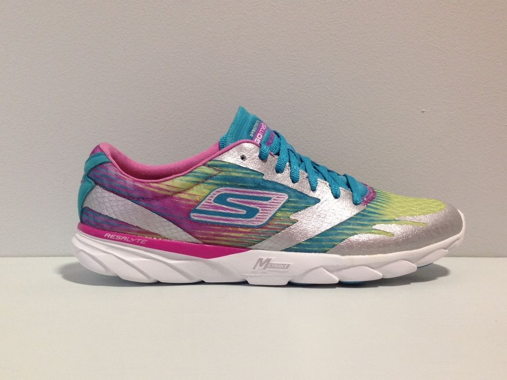 WMNS SKECHERS PERFORMANCE GO RUN MEB SPEED 2, RUNNING SHOES
