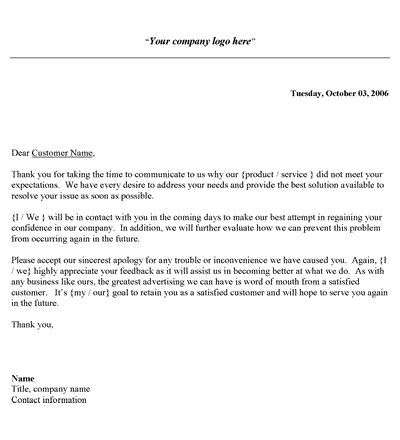 Formal Complaint Letter Template Word Formal Resignation Letter