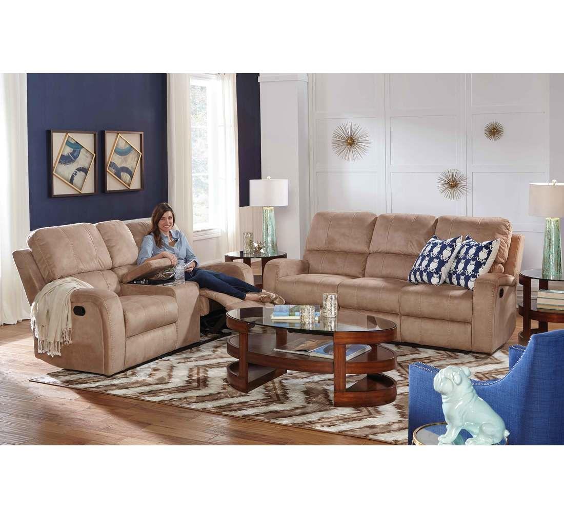 Savannah 3pc Reclining Livingroom Badcock More Furniture Home Furniture Living Room [ 1012 x 1100 Pixel ]