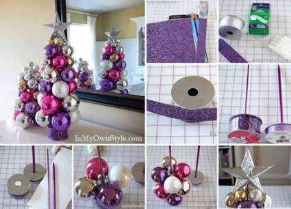 27 Cheap DIY Christmas Decorations DIY Christmas, Ornament tree - christmas decorations diy