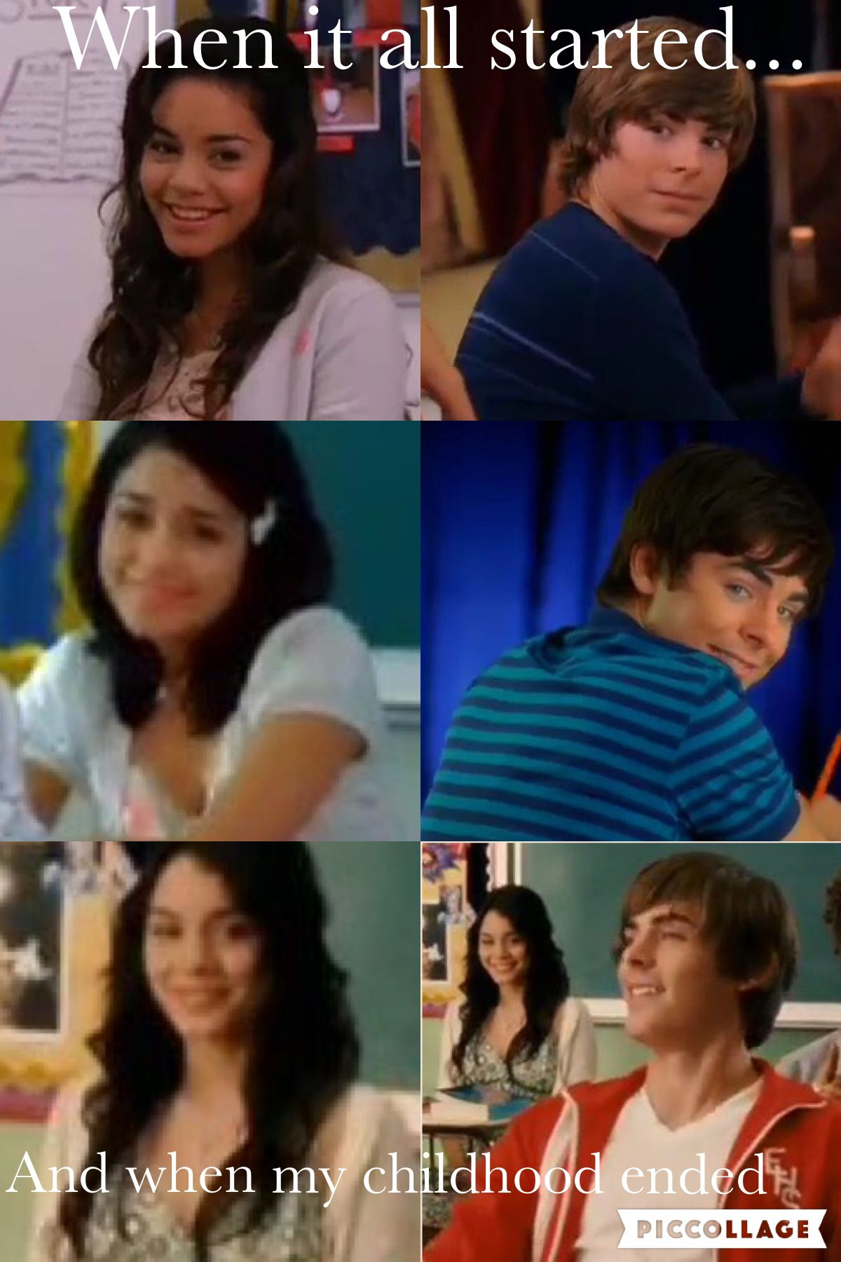 Excuse me while I go sob! High school musical quotes