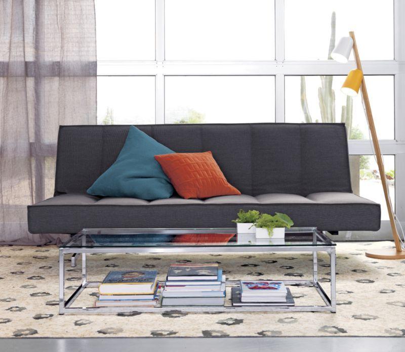 Flex Gravel Sleeper Sofa Cb2 Master Bedroom Sleeper Sofa Sofa