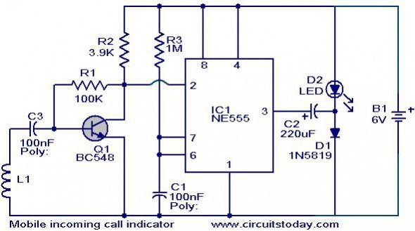 mobile camera wiring diagram hobby electronics, electronics projects, simple  circuit, house wiring,