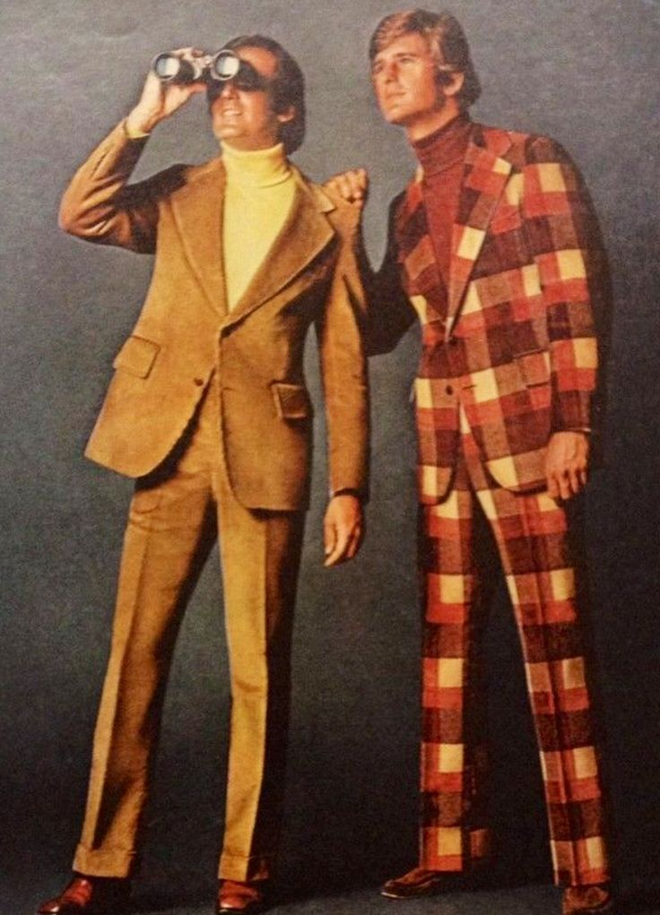 1970s leisure suits were very comfy and usually matching
