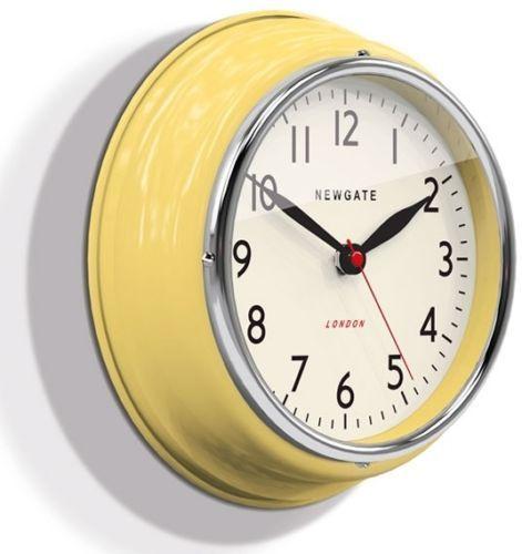 Retro Vintage 1950s Newgate Black Funky Colour Modern Chic Kitchen 3d Wall Clock Wall Clocks Uk Clock Wall Clock