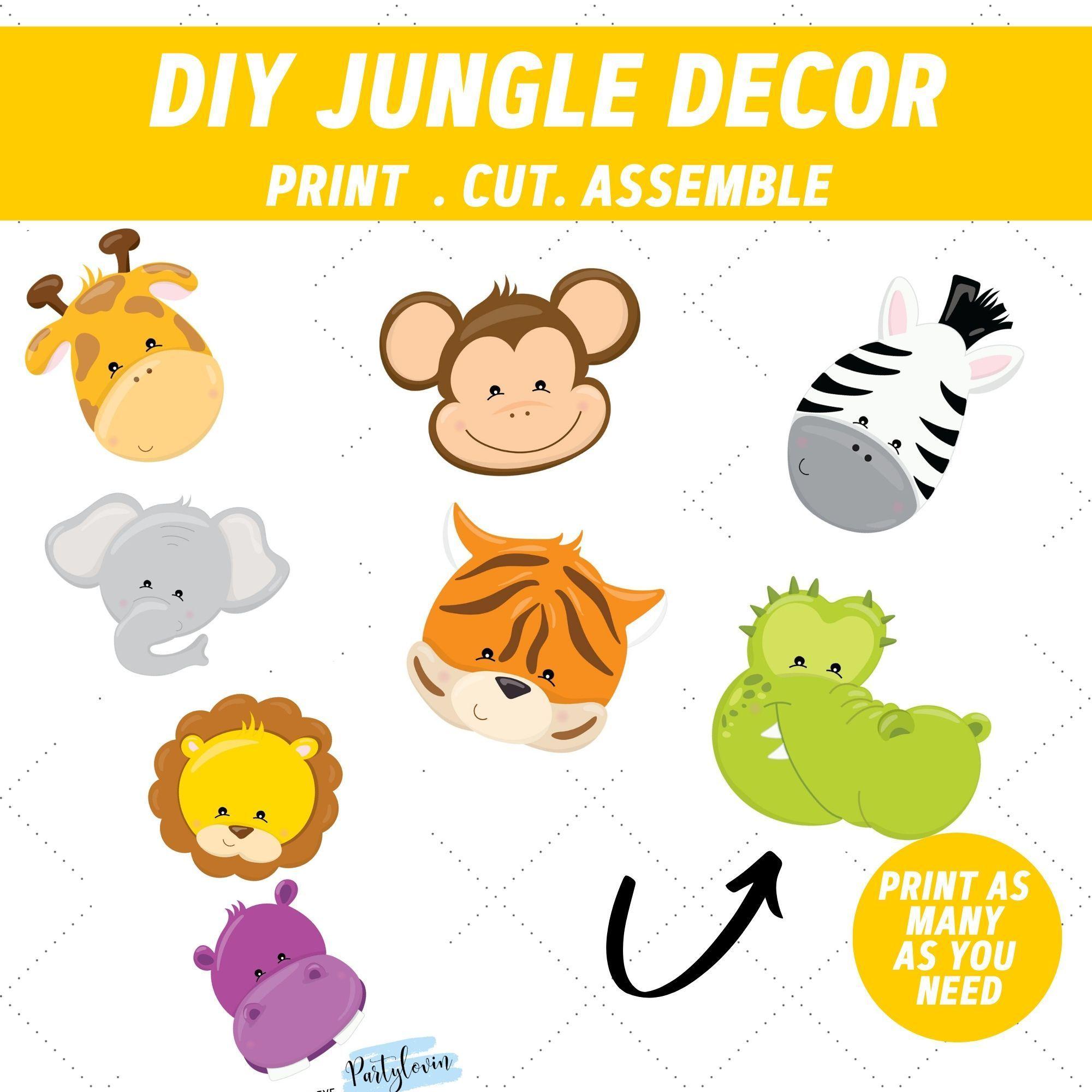Jungle Safari Printable Free Invitation Jungle Safari Party Jungle Safari Birthday Safari Party