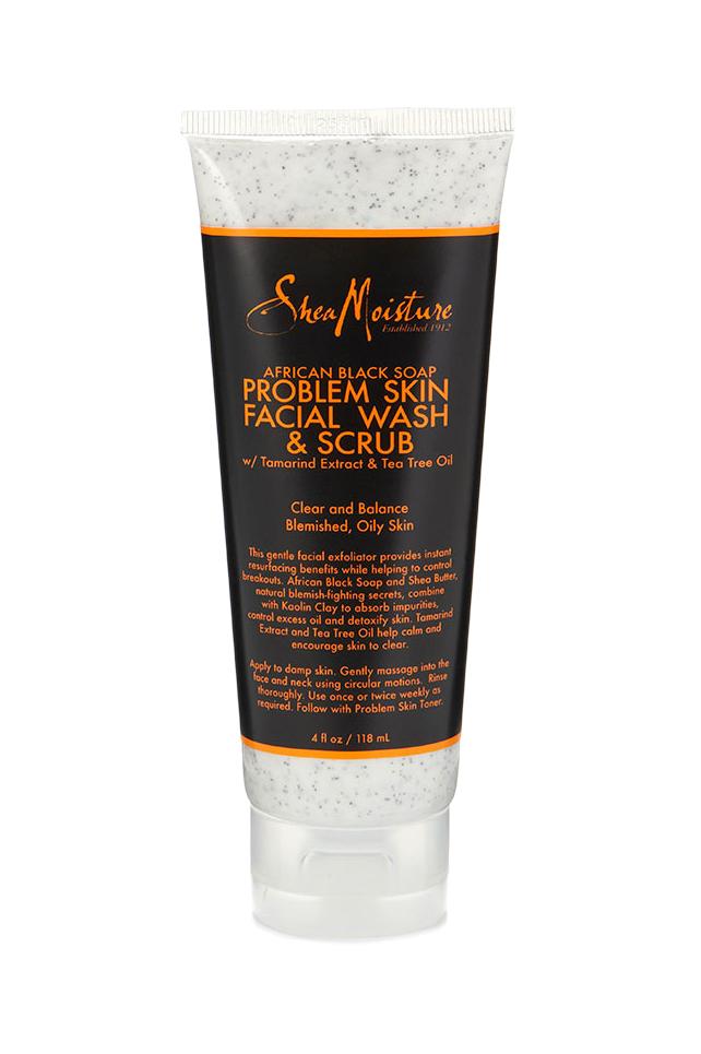 Shea Moisture African Black Soap Facial Wash Scrub Shea Moisture Products African Black Soap Facial Wash