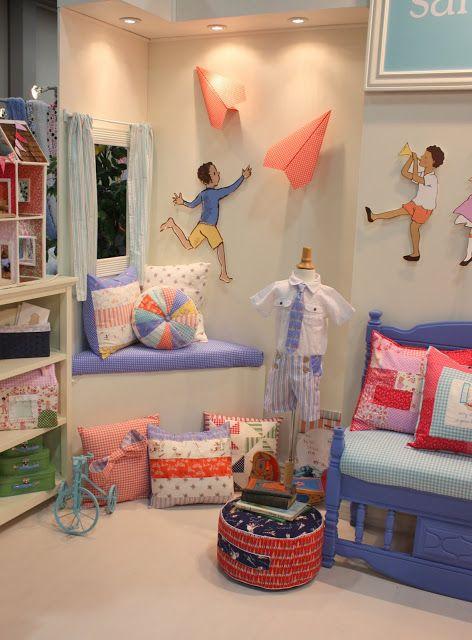 New Fabric Sarah Jane S Children At Play Nursery Interior
