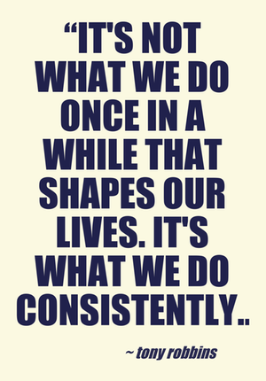 Consistency Quotes quotes #quote #life #consistence #business #businessquotes  Consistency Quotes