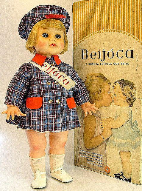 Boneca Beijoca - Estrela - Brasil - 60's
