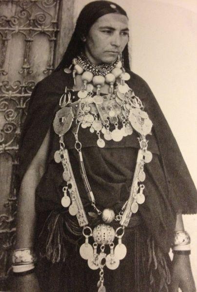 Morocco African Women Fashion Moroccan Jewelry