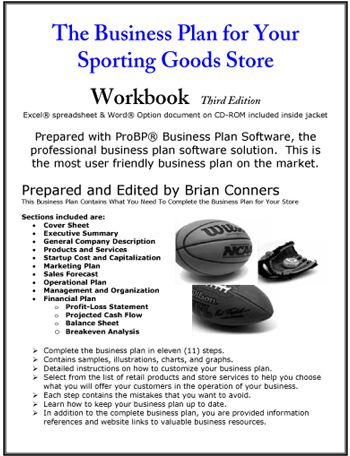 Sporting Goods Store Business Plan Business Planning Sports Business Fun Sports