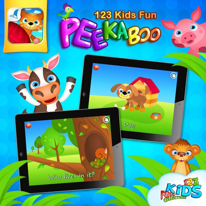 Peekaboo It's An Educational Interactive Hide And Seek