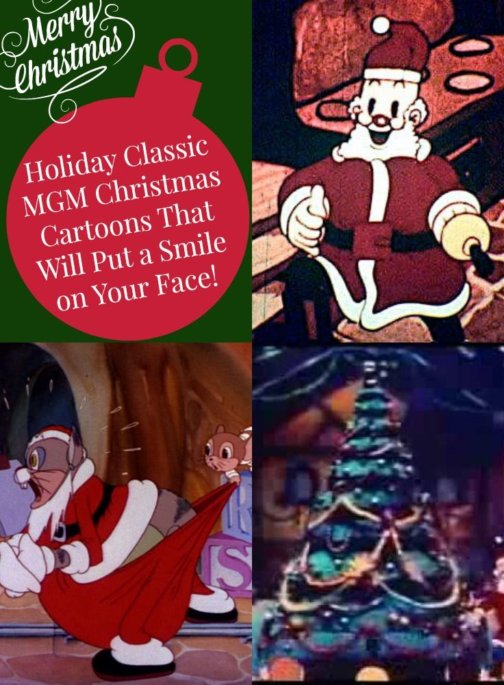 Vintage Christmas Cartoons Classic Holiday Shorts From 1930s Mgm Christmas Cartoons Classic Holiday Holiday Cartoon