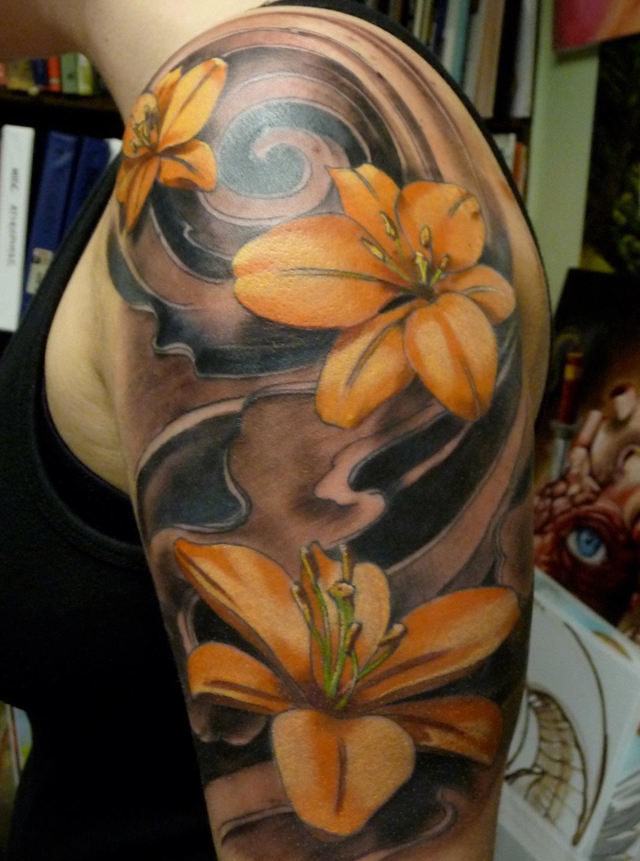 Damon conklin super genius tattoo seattle wa color