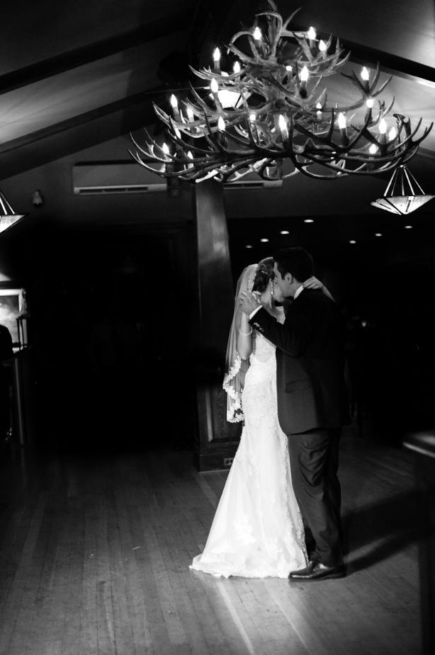 Lindsay & Jake #wedding at the Bow Valley Ranche Restaurant. Photo Credit @Emily Exon Photograhy #yycwedding http://www.emilyexon.com/