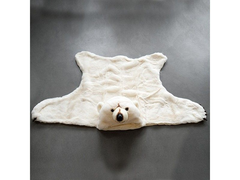 Tapis Ours Blanc