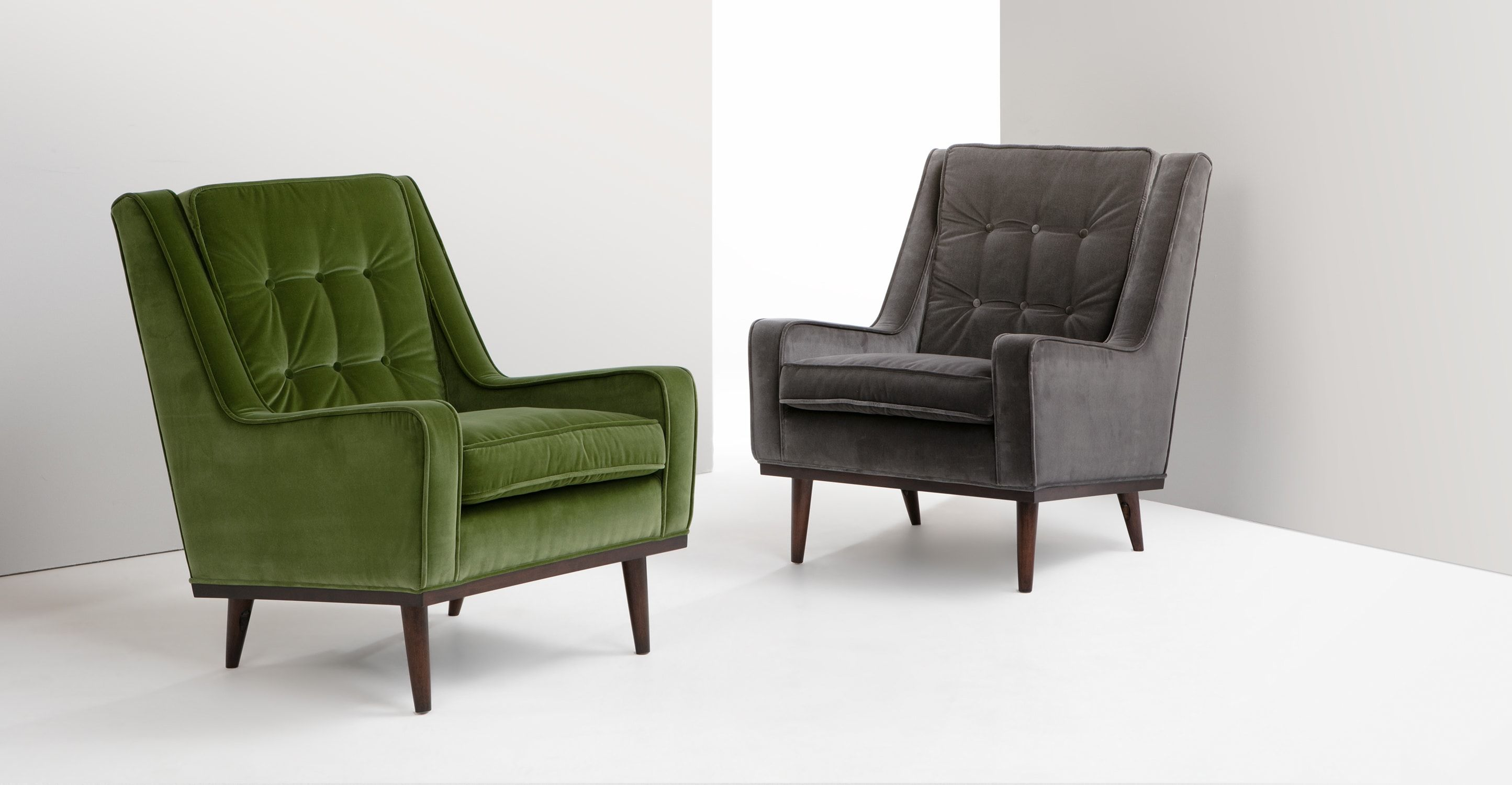 Relaxsessel Wohnzimmer ~ Scott sessel samt in grasgrün