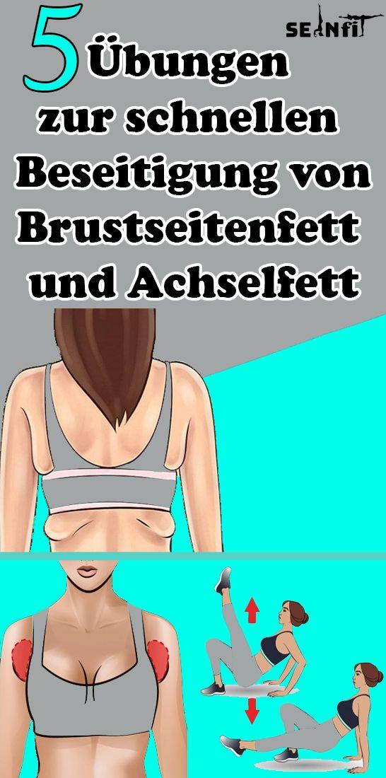 Photo of 5 Übungen zum schnellen Entfernen von Brust- und Achselfett