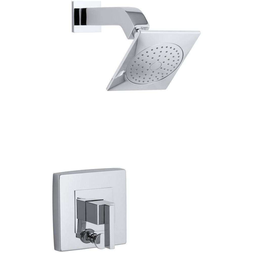 KOHLER Loure 1-Handle Shower Faucet Trim Kit with Diverter in ...