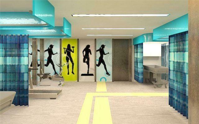 Pin Di Rachel K Su Flooring Design Palestra Palestra Design
