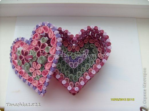 stranamasterov.ru The name of Russianquiller is written below - Quilled heart boxes (Searched by Châu Khang)