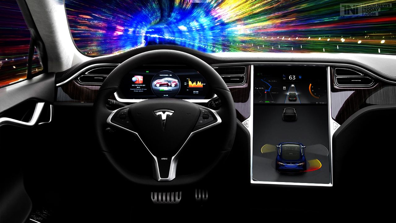 Tesla Motors Inc To Release New Autopilot Software For Its Model S - Automobil tesla