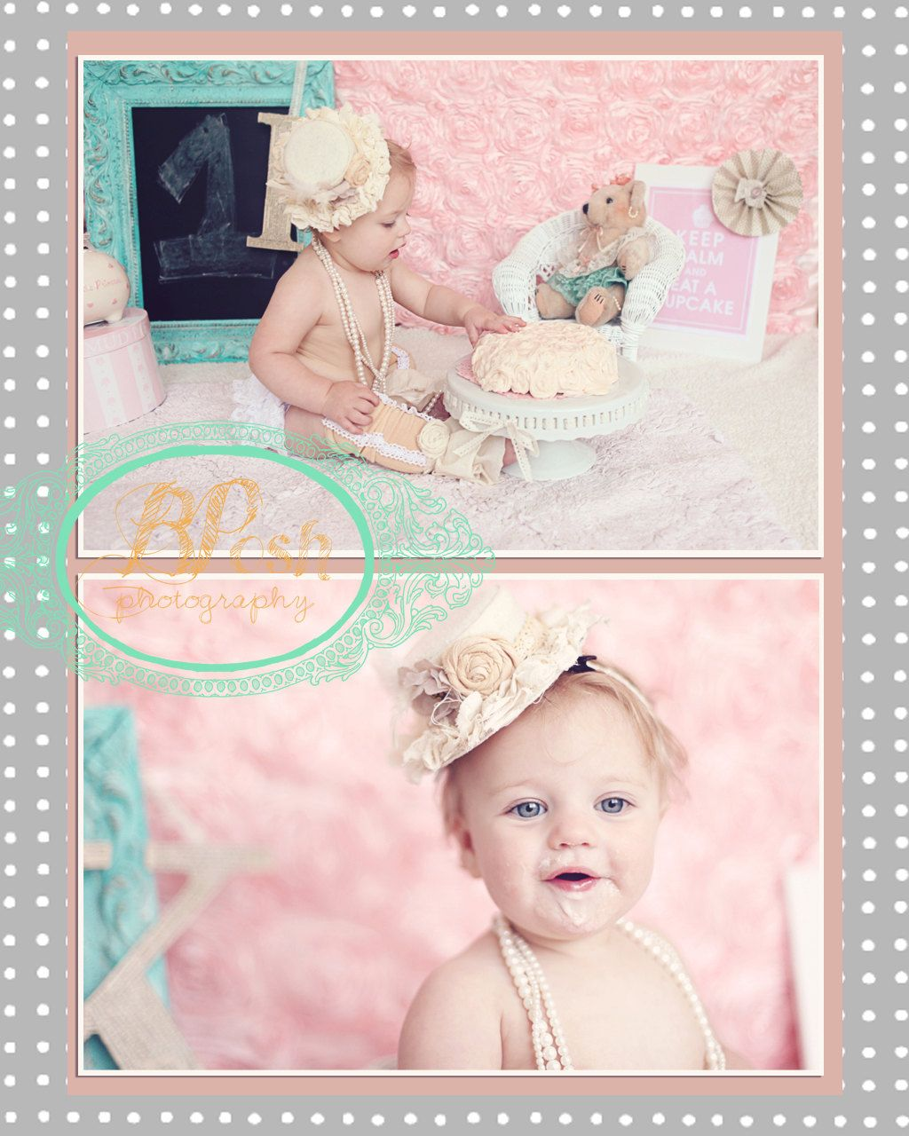 Vintage Inspired Baby Party Hat 20 00 Via Etsy
