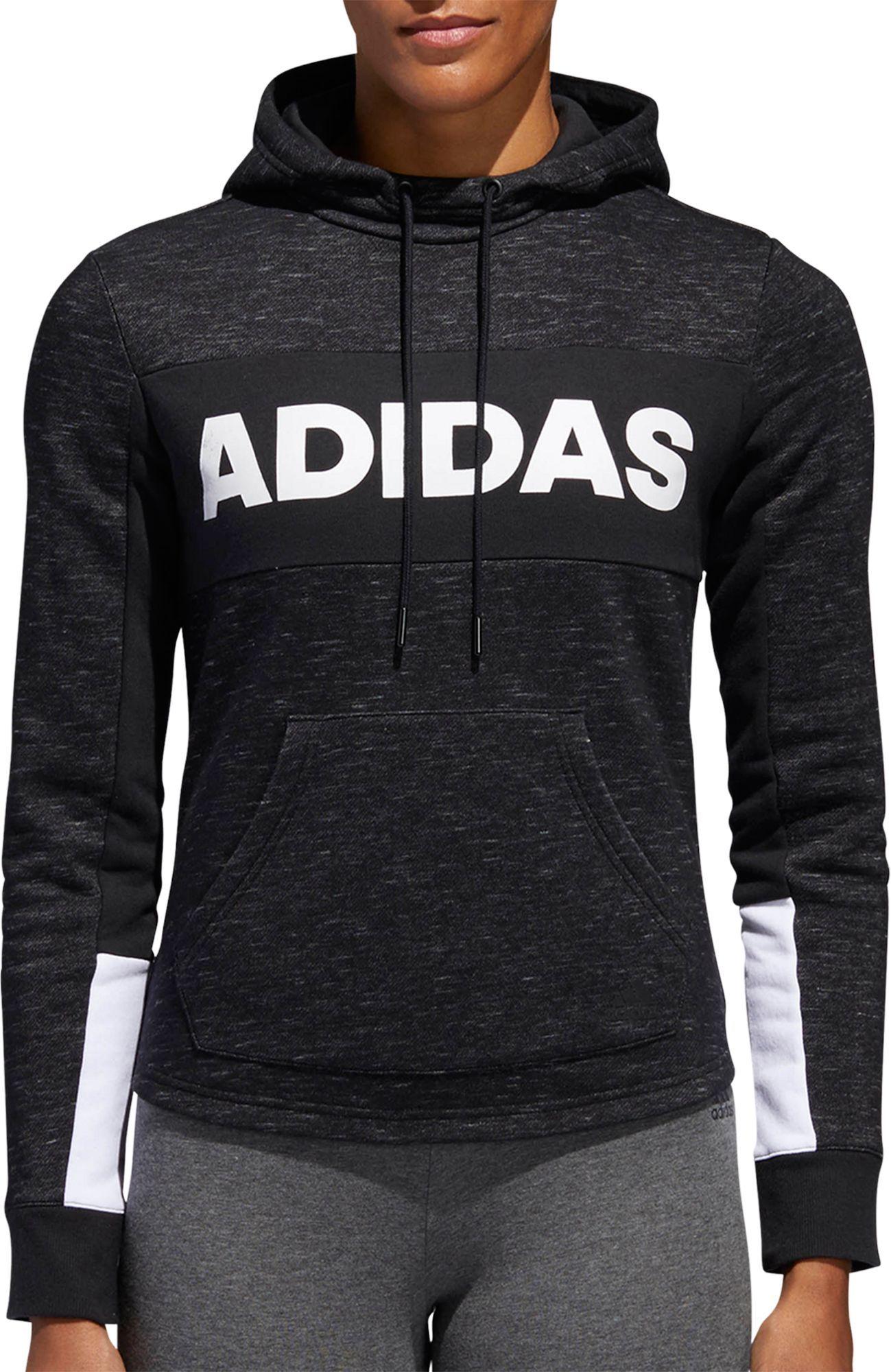 8cae6fa99554 adidas Women s Post Game Fleece Pullover Hoodie