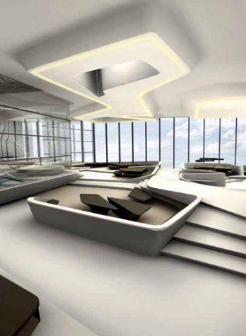 Zaha Hadid The Opus, Commercial Tower, Business Bay Dubai | Booth ...