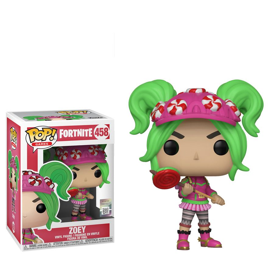 ce538f2a10758 Fortnite Zoey Funko Pop! Vinyl Figure 458 #fortnite #Ireland #game ...