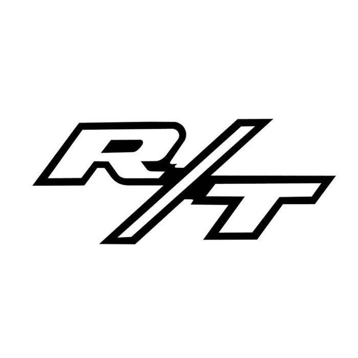 details about rt emblem vinyl decal sticker