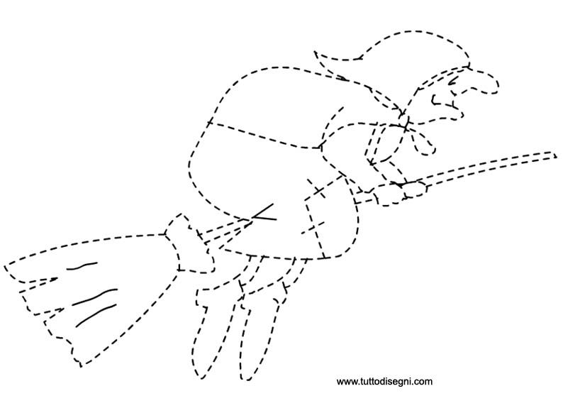 Pregrafismo befana befana pumpkin coloring pages for Befana disegno