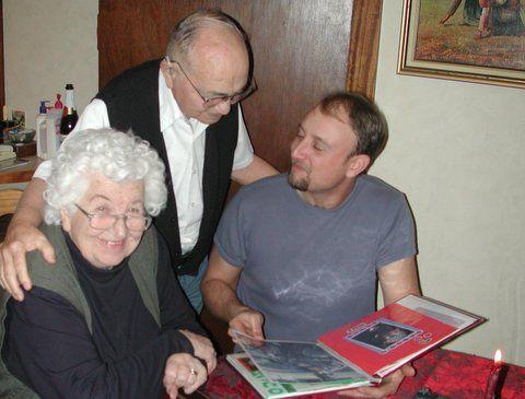 Mom, Dad and Brian St. John 2007
