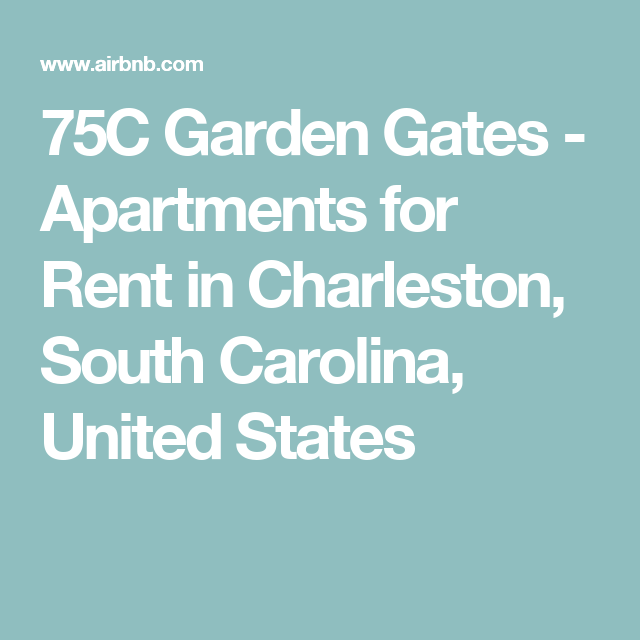 South Carolina Apartments: Apartments For Rent In Charleston