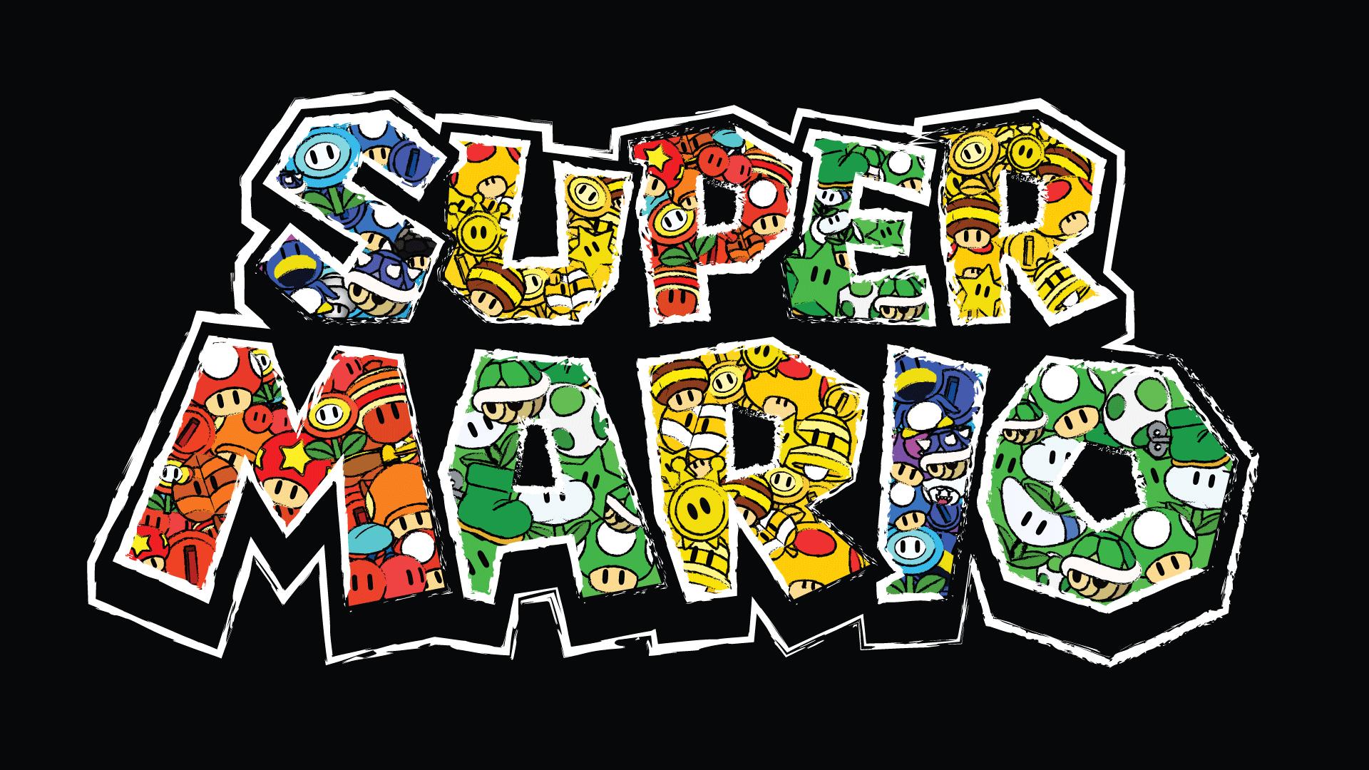 32 Famous Fonts You Need To Download Immediately Mario Mario Bros Birthday Super Mario