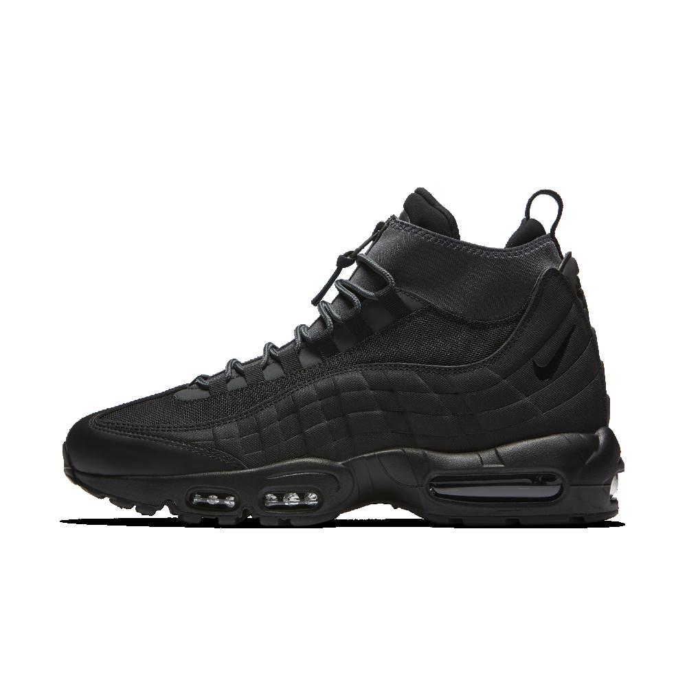 Wholesaler Men Nike Air Max 95 Black Black Anthracite His