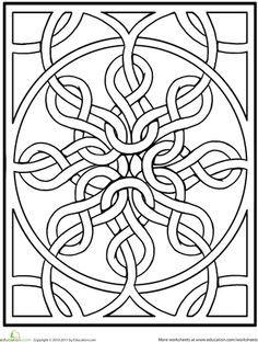 celtic mandala pinterest celtic mandala worksheets and mandala