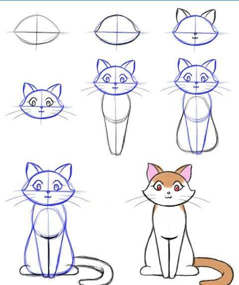 how to draw basic church